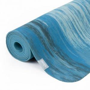 Коврик для йоги samurai marbled, голубой Йогин - Тонкие коврики (3-4 мм.)