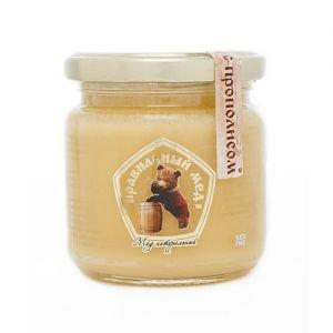 Мёд с прополисом правильный мед Правильный Мёд, 250 г. - Натуральный мед