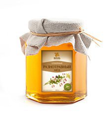 Мёд разнотравный Янтарь – Душевный мёд, 500 г. - Полезные сладости
