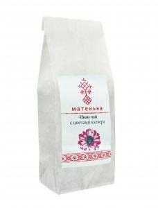 Чай из листа иван-чая и цветов клевера  Матенька,  50г. от Ayurveda-shop.ru