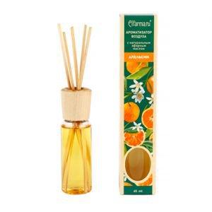 Ароматизатор воздуха с натуральным эфирным маслом апельсин эльфарма elfarma Elfarma (Эльфарма), 45 мл. - Тростниковые ароматизаторы-диффузоры