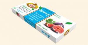 Натуральные фруктовые пастилки инжир Te Gusto, 40 г. - Полезные сладости