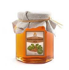 Мёд кориандровый Мед Янтарь, 250 г. - Натуральный мед