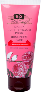 Фото - Маска для лица с лепестками розы Индиберд (Rose Petal Face Pack Indibird), 50 г.