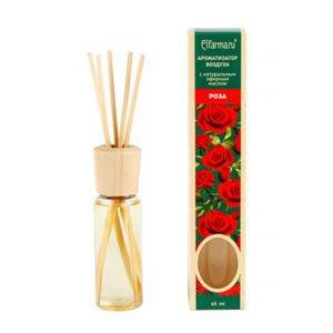 Ароматизатор воздуха с натуральным эфирным маслом роза эльфарма elfarma  Elfarma (Эльфарма),  45 мл. от Ayurveda-shop.ru