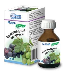Косметическое масло виноградной косточи elfarma Эльфарма, 30 мл