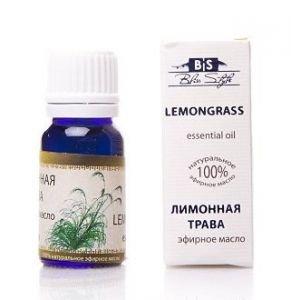 Эфирное масло лимонная трава lemon grass oil bliss style  Amritha,  10 мл.