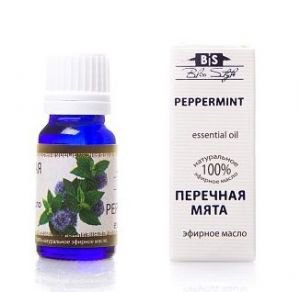 Эфирное масло перечная мята peppermint oil bliss style  Amritha,  10 мл.