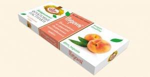 Натуральные фруктовые пастилки персик  Te Gusto,  40 г.