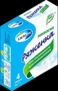 Сухая закваска ряженка,  sacco,  в саше 1 г.  Laktoline / Sacco (Лактолайн и Сакко)