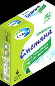 Сухая закваска сметана,  sacco,  в саше 1 г.  Laktoline / Sacco (Лактолайн и Сакко)