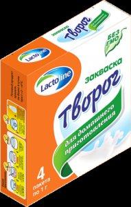 Сухая закваска творог,  sacco,  в саше 1 г.  Laktoline / Sacco (Лактолайн и Сакко)
