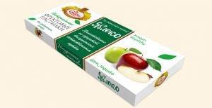 Натуральные фруктовые пастилки яблоко  Te Gusto,  40 г.