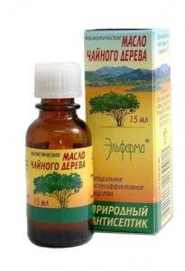 Косметическое масло чайного дерева elfarma Эльфарма, 15 мл