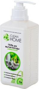 Гель для мытья посуды универсальный с дозатором, (clean home), 1000 мл. от Ayurveda-shop.ru