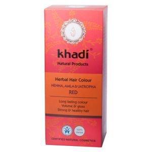 Краска растительная для волос хна, амла и ятрофа khadi кхади Khadi (Кхади), 100 г. - Уход за волосами