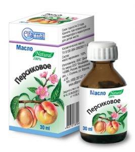 Масло косметическое персиковое elfarma эльфарма Elfarma (Эльфарма), 30 мл. - Косметические масла
