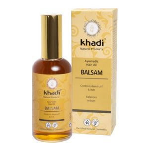 Масло бальзам против перхоти и сухости кожи головы кхади balsam hair oil khadi  ,  100 мл.