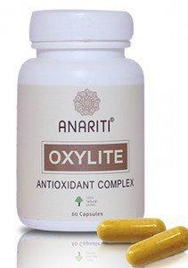 Комплекс антиоксидантный оксилайт anariti анарити  ,  60 капсул.