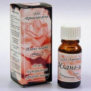 Масло эфирное иланг-иланг Крымская Роза (Эфирные Масла), 10 мл - Эфирные аромамасла