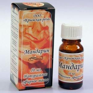 Масло эфирное мандарин Крымская Роза (Эфирные Масла), 10 мл - Эфирные аромамасла