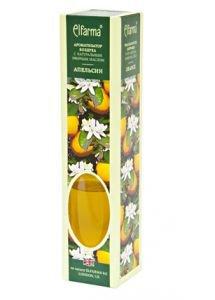 Ароматизатор воздуха с натуральным эфирным маслом апельсин elfarma эльфарма Elfarma (Эльфарма), 50 мл - Тростниковые ароматизаторы-диффузоры