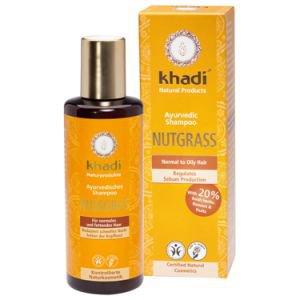 Шампунь для нормальных и жирных волос нусграс khadi кхади Khadi (Кхади), 210 мл. - Шампуни и кондиционеры