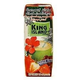 Вода кокосовая с соком ягод king island кинг айленд, 250 мл.