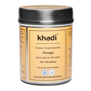 Маска для лица для комбинированной кожи апельсин кхади orange khadi Khadi (Кхади), 50 г. - Уход за лицом