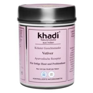 Маска для лица для жирной и пористой кожи ветивер кхади vetiver khadi  Khadi (Кхади),  50 г. от Ayurveda-shop.ru
