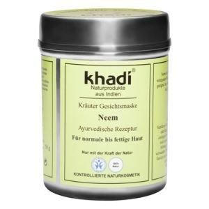 Маска для лица для нормальной и жирной кожи ним кхади neem khadi  ,  50 г.