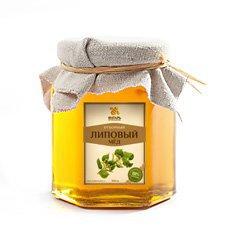 Мёд липовый Мед Янтарь, 250 г. - Натуральный мед