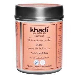 Маска для лица для сухой чувствительной зрелой кожи роза кхади rose khadi Khadi (Кхади), 50 г. - Уход за лицом