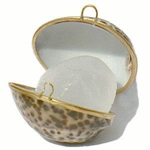 Кристалл-дезодорант алунит в тигровой раковине Деонат, 75 г. - Натуральные дезодоранты