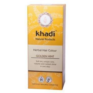Краска растительная для волос золотистый оттенок кхади herbal ha Khadi (Кхади) - Уход за волосами