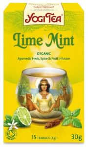 Yogi Tea «Lime Mint» (Лимон и мята)
