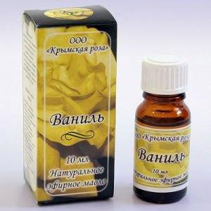 Ваниль эфирное масло 10 мл. Крымская Роза (Эфирные Масла) - Эфирные аромамасла