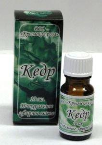 Кедр эфирное масло Крымская Роза (Эфирные Масла), 10 мл. - Эфирные аромамасла