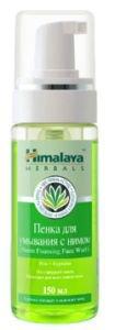 Пенка для умывания с нимом  Himalaya Herbals,  150 мл.