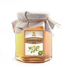 Мёд донниковый Мед Янтарь, 250 г. - Натуральный мед