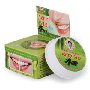 5 STAR Зубная паста с бамбуковым углем babmboo charcoal black toothpaste 5star5a 5 стар  ,  25 г.