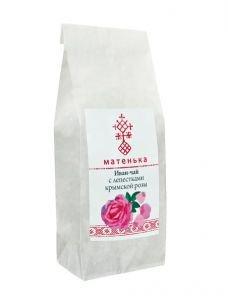 Иван-чай с лепестками крымской розы  Матенька,  50 г. от Ayurveda-shop.ru