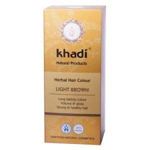 Краска растительная для волос светло-коричневый кхади herbal ha Khadi (Кхади) - Уход за волосами