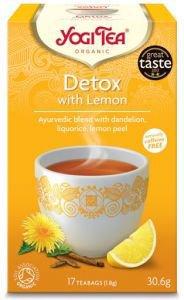 Yogi tea detox with lemon очищающий чай с лимоном  Yogi Tea