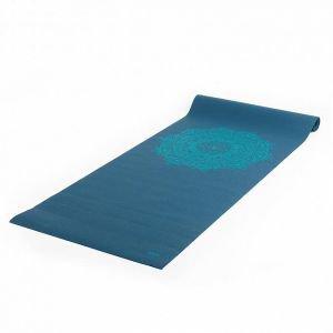 Коврик для йоги leela mand 183*60*0, 4см, темно-морская волна Йогин - Тонкие коврики (3-4 мм.)