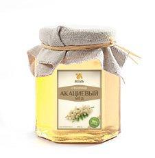 Мёд акациевый Мед Янтарь, 250 г. - Натуральный мед