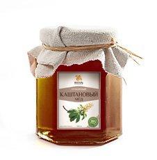 Мёд каштановый Янтарь – Душевный мёд, 250 г. - Полезные сладости