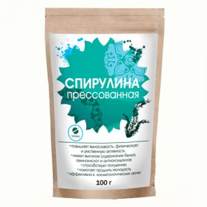 Спирулина прессованная, 100 г. - Пищевые добавки