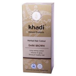 Краска растительная для волос темно-коричневый khadi кхади Khadi (Кхади), 100 г. - Уход за волосами
