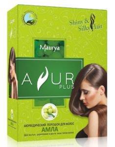 Аюрведический порошок для волос амла Ayur Plus (Аюр Плюс), 50 г. - Уход за волосами